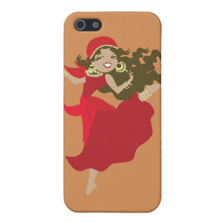 Gipsy pinup dancer cover for iPhone SE/5/5s