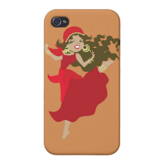 Gipsy pinup dancer iPhone 4 cover
