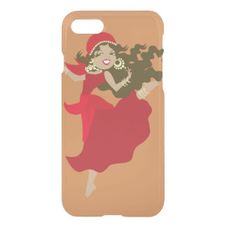 Gipsy pinup dancer iPhone 8/7 case
