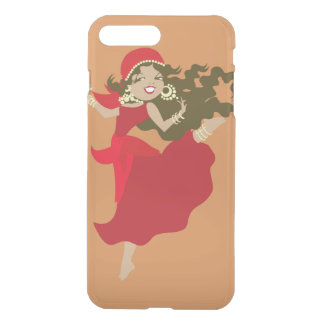 Gipsy pinup dancer iPhone 8 plus/7 plus case