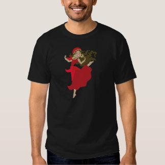 Gipsy pinup dancer t-shirt