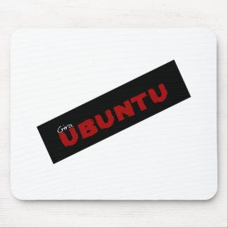 """""""Gira Ubuntu""""  African philosophy Mouse Pad"""