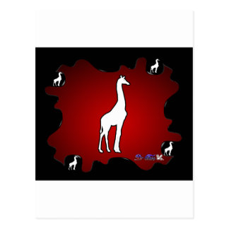 GIRAFE GIFTS CUSTOMIZABLE PRODUCTS POSTCARDS