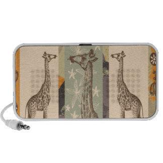 Giraffa Camelopardalis de Expeditiontees iPhone Altavoz