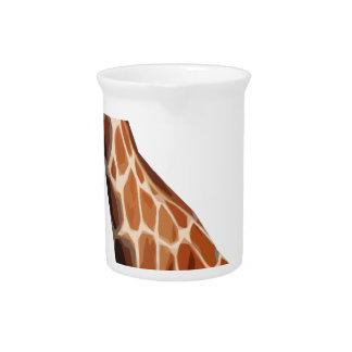 Giraffa camelopardalis beverage pitchers