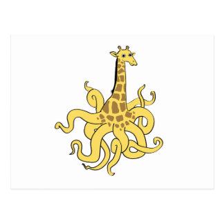 giraffapus_NO_words.ai Postcard