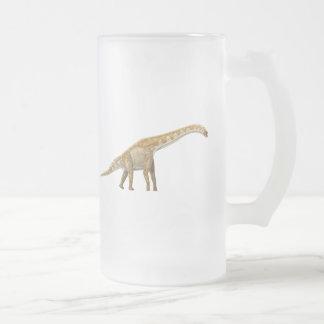 Giraffatitan 16 Oz Frosted Glass Beer Mug