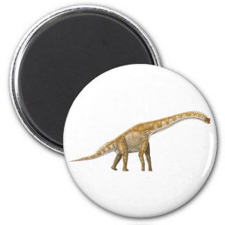 Giraffatitan 2 Inch Round Magnet