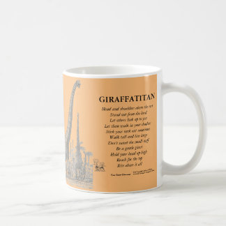 Giraffatitan Your Inner Dinosaur Mug Greg Paul