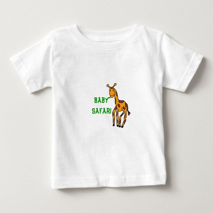 giraffe2, Baby Safari Baby T-Shirt
