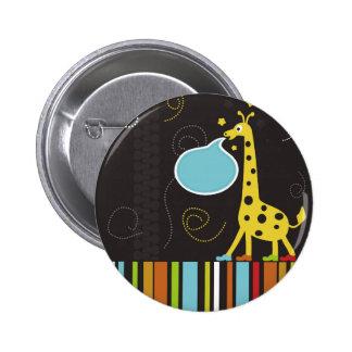 Giraffe2 Pin Redondo De 2 Pulgadas