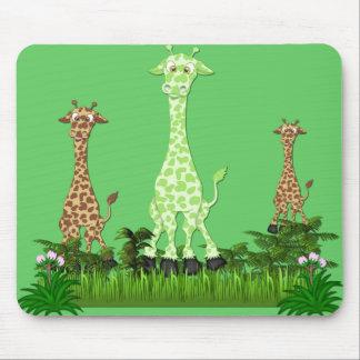 giraffe3 mouse pad