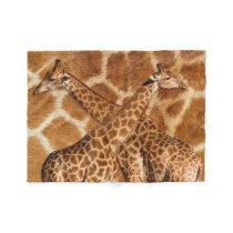Giraffe 1A Fleece Blanket