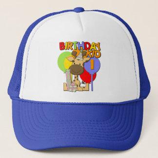 Giraffe 1st Birthday Trucker Hat