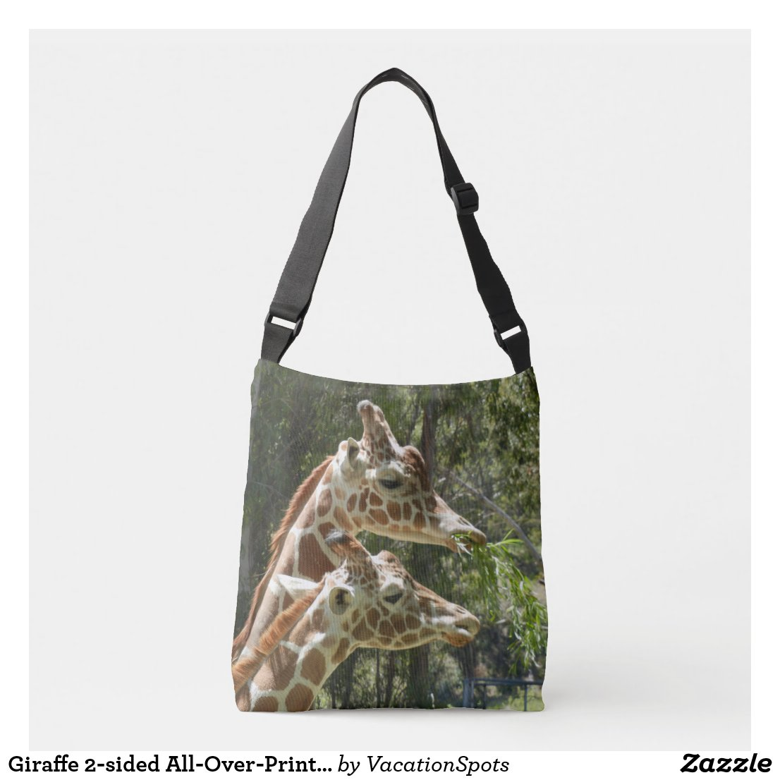 Giraffe 2-sided All-Over-Print Cross Body Bag