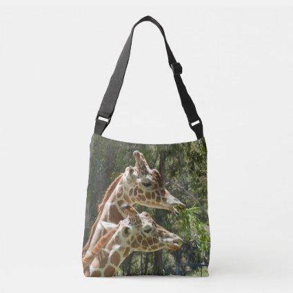 Giraffe 2-sided All-Over-Print Cross Body Bag