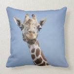 Giraffe 2 throw pillows