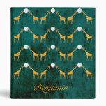 Giraffe 3 Anillos Carpetas