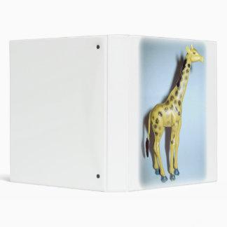 Giraffe 3 Ring Binder