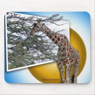 Giraffe 3D Mouse Pad