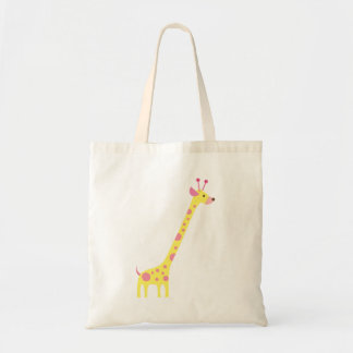 giraffe 6 tote bag