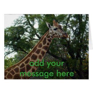 Giraffe_Adventure_Big_Greeting_Card. Card