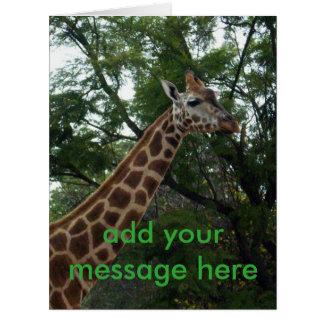 Giraffe_Adventure_Jumbo_Greeting_Card. Card