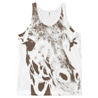 Giraffe All-Over-Print Tank Top