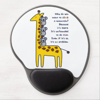 < Giraffe and adhering koala (for light-colored Gel Mouse Pad