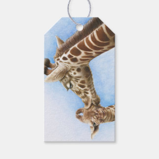 Giraffe and Calf Gift Tags