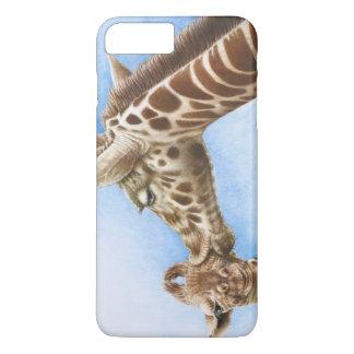 Giraffe and Calf iPhone 7 Plus Case