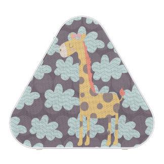 Giraffe and Clouds Speaker