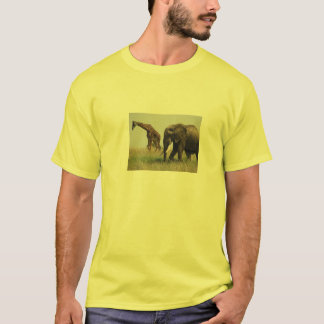 giraffe and elephant shirt