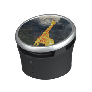 Giraffe and Moon | Bluetooth Bumpster Speakers