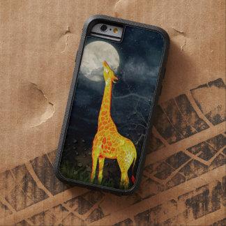 Giraffe and Moon iPhone 6  Samsung Galaxy S6 Cases