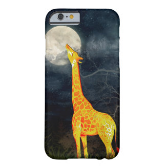 Giraffe and Moon iPhone Samsung Galaxy S6/S5 Cases Barely There iPhone 6 Case