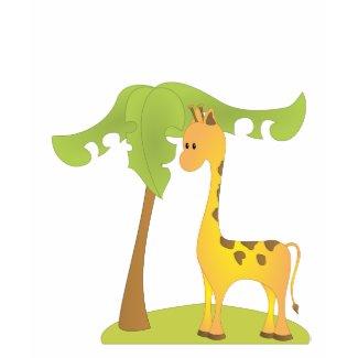 Giraffe and Tree shirt