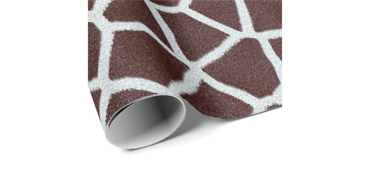 giraffe wrapping paper