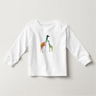 Giraffe Art Toddler T-shirt