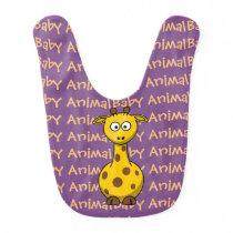 Giraffe Baby Animal Baby Bib