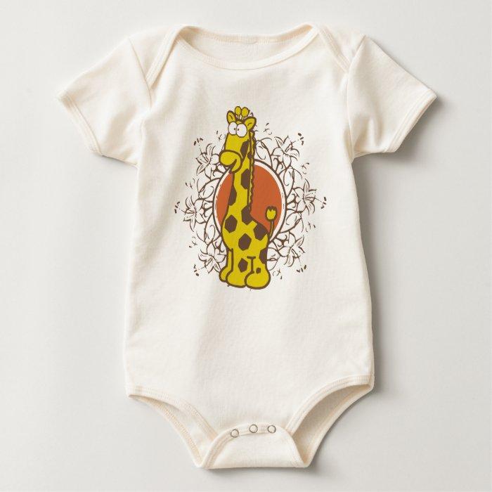 Giraffe Baby Baby Bodysuit