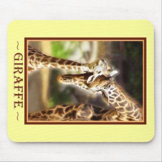 Giraffe Baby Mouse Pad