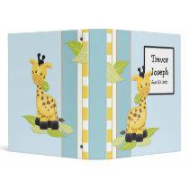 Giraffe Baby Photo Album Binder