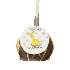 Giraffe Baby Shower Cake Pop Cake Pops