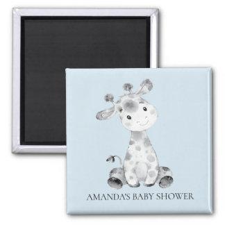 Giraffe Baby Shower Favor Magnet