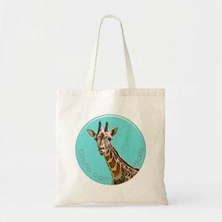 Giraffe Canvas Bags