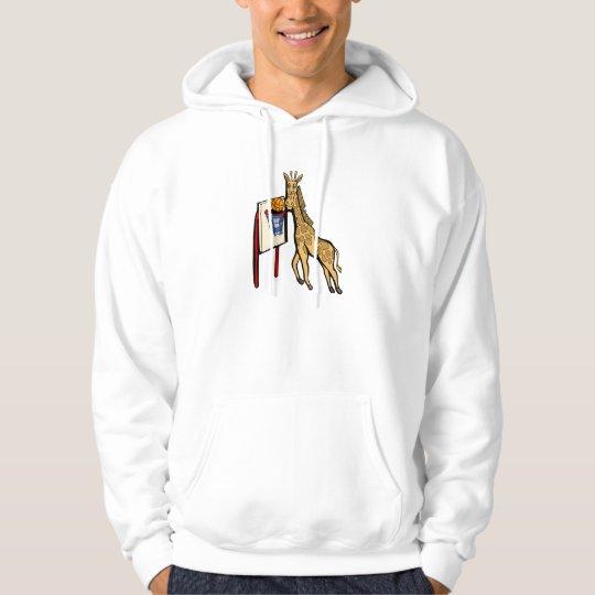 Giraffe Basketball Hoodie