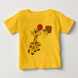 Giraffe Basketball T-shirts and Gifts