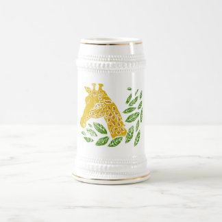 Giraffe Beer Stein