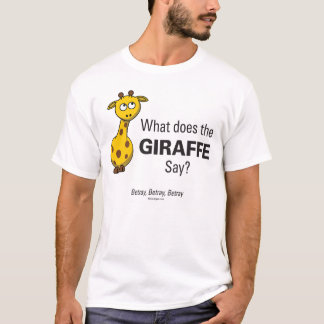 Giraffe Betray Men's Basic T-Shirt